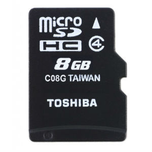 Toshiba FG 8G Micro SD+ Adapters in Kenya