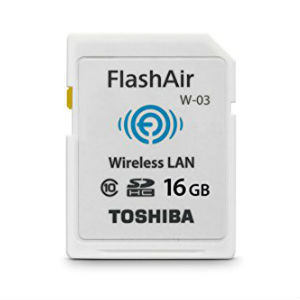 Toshiba FlashAir W-03 16GB SD Flash Memory Cards in Kenya